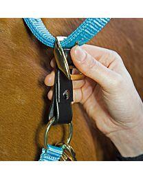 Shires Equestrian Leather Breakaway Tab