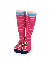 """Shires Equestrian """"Painted Toes"""" Every Day Socks"""