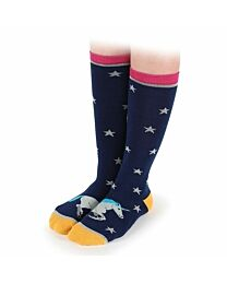 """Shires Equestrian """"Unicorn Toes"""" Every Day Socks"""