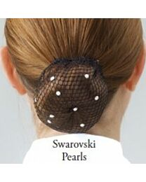 ShowQuest Bun Net with Swarovski Crystals