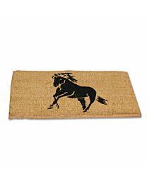 """""""Single Horse"""" Coir Door Mat"""