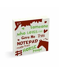 PooPooPaper Someone Who Loves Me Scratch Pad