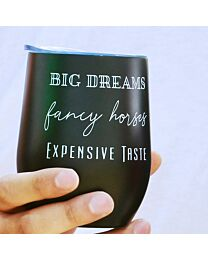 """Spiced Equestrian """"Big Dreams"""" Insulated Cup"""