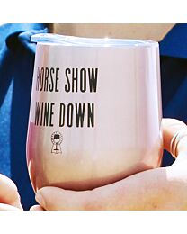 Spiced Equestrian Insulated Cup Horse Show Wine Down
