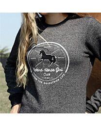 "Spiced Equestrian ""Weird Horse Girl Club"" Sweathershirt"