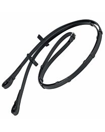 Stubben Plain Leather Reins with Stops