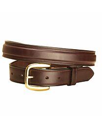 "Tory Leather 1 1/4"" Raised Stitched Belt"