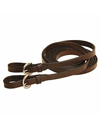 Tory Leather Single Ply Reins with Buckles