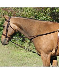 Tory Leather Vienna Side Reins with Loop