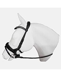 Tota Cayman Snaffle Bridle with Flash and Crystal Browband
