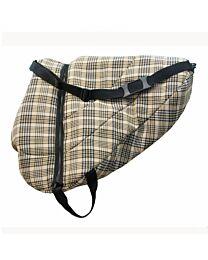Traditional Plaid Saddle Bag