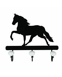 Trotting Horse Coat Rack
