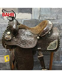 "Used 16"" Burford Western Saddle"