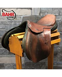 """Used 17.5"""" BR Jos Lansink Special Close Contact Saddle"""