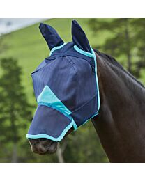 Weatherbeeta ComFiTec Fine Mesh Long Nose Fly Mask with Ears