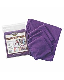 Weaver Leather Microfibre Towel - 4 Pack