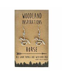 Woodland Horse Earrings