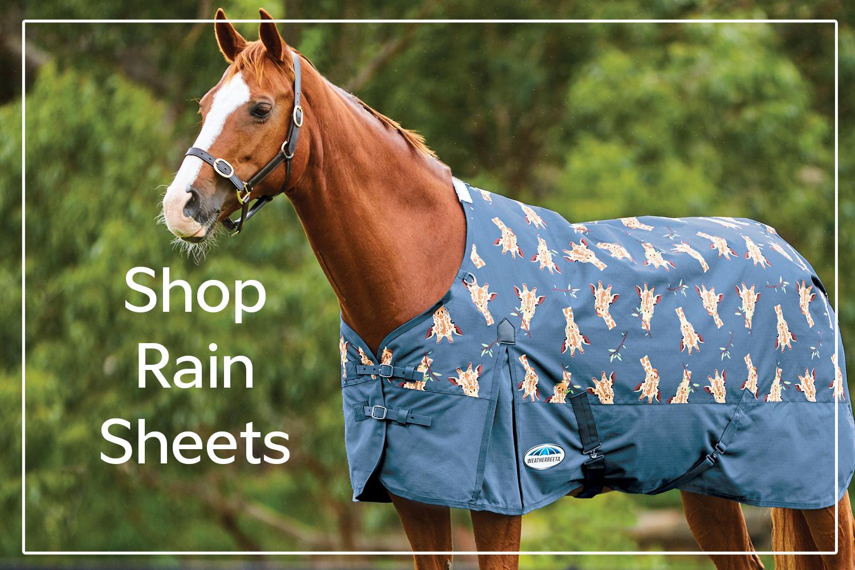 Shop Rain Sheets / Turnout Sheets